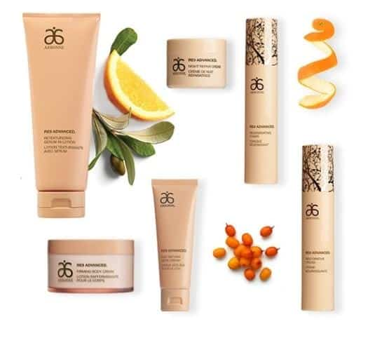 An image of Arbonne International's facial cleansing creams