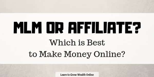 network marketing vs affiliate Marketing image