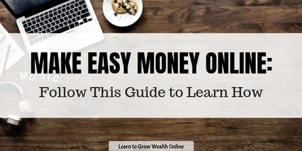 how to make easy money online image