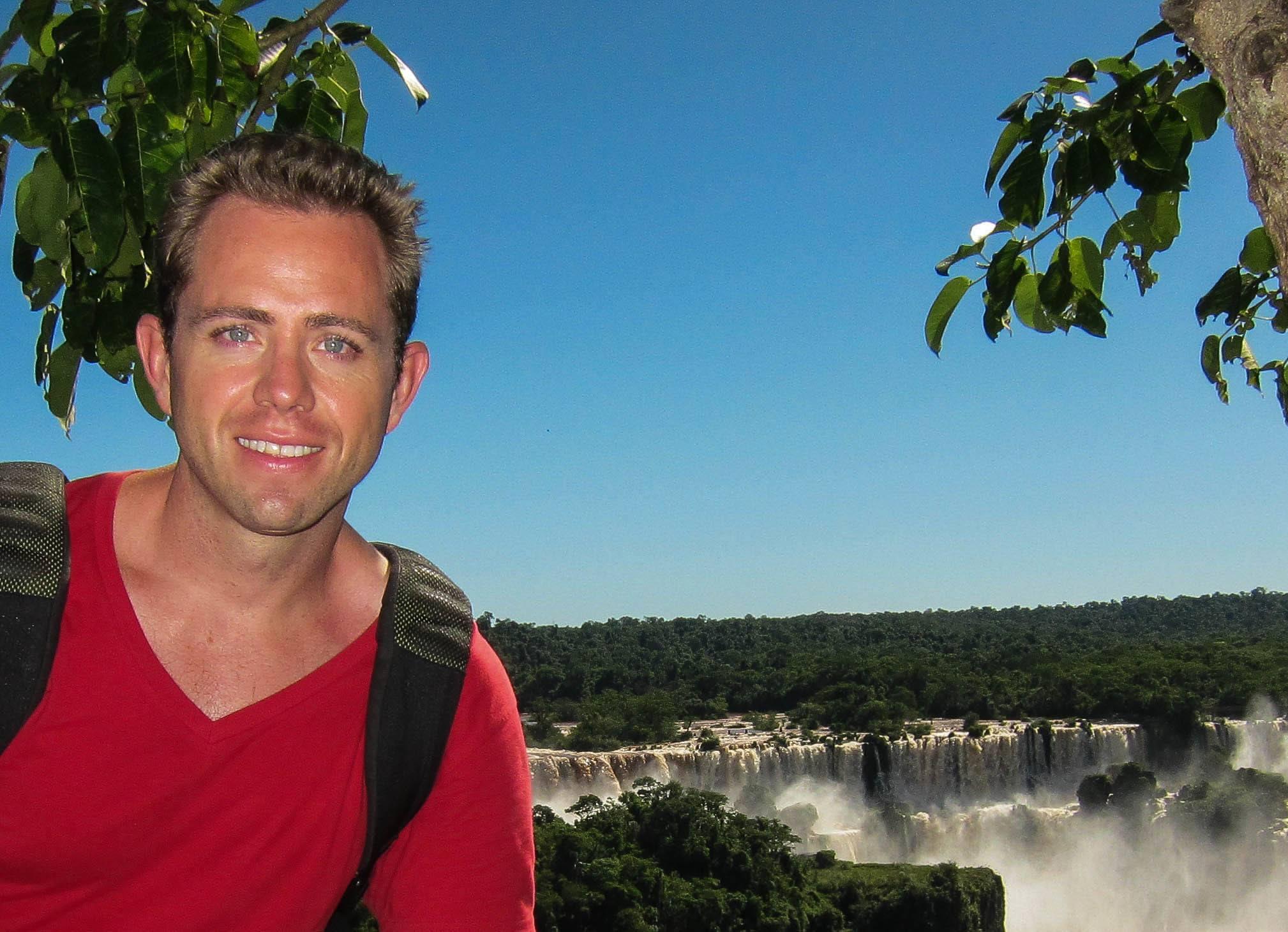Todd Maltzahn at Puerto Iguazzu, Argentina