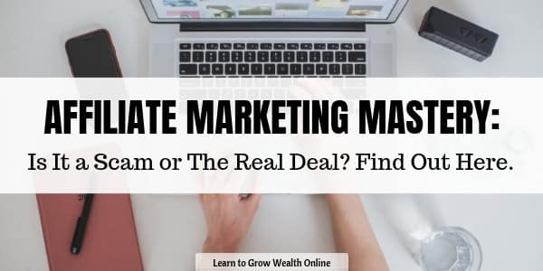 affiliate marketing mastery review image