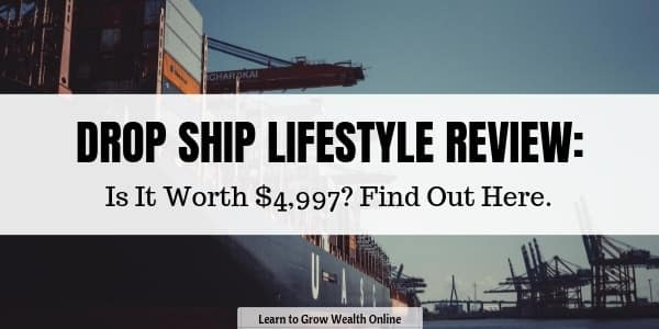 a cover image for our Drop Ship Lifestyle review.