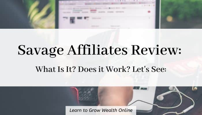 Cover image for What is Savage Affiliates