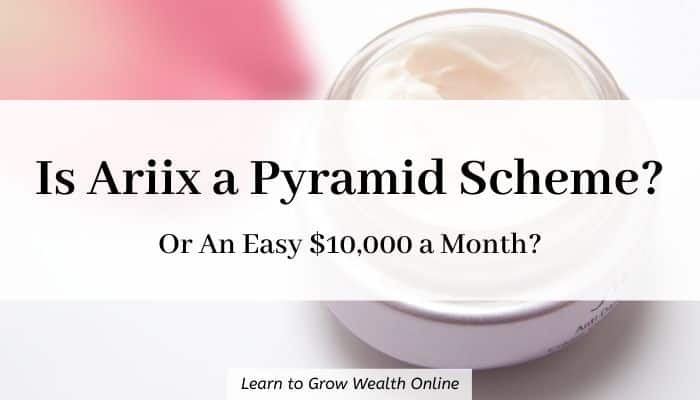 cover image for is Ariix a pyramid scheme