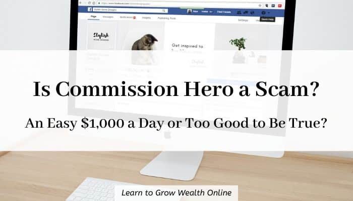 Cover image for is commission hero a scam article