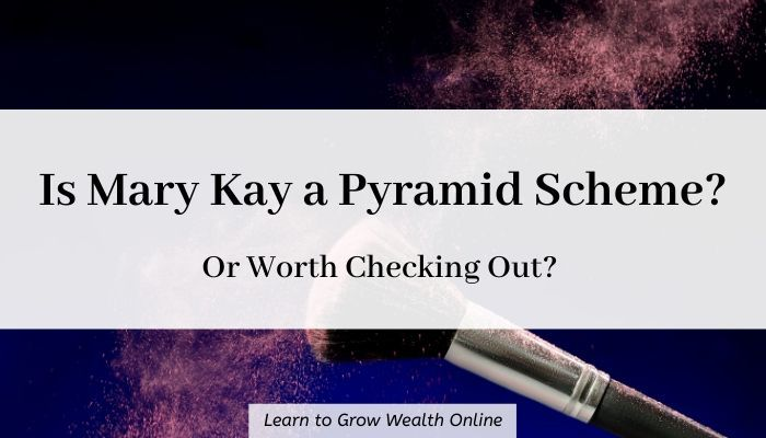 is Mary Kay a pyramid scheme cover image