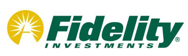 A screenshot of Fidelity Investments logo.