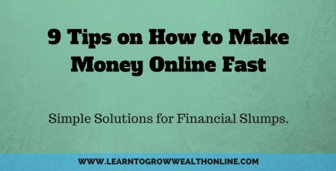 How to Make Money Fast Online